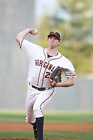 Virginia vs VT baseball. Photo/The Daily Progress/Andrew Shurtleff
