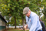 Oct 06, 2019 :  Jimmy Jerkens, at Belmont Park, in Elmont, NY, October 06, 2019. Sue Kawczynski_ESW_CSM,