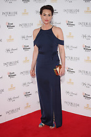 """Charlotte Peters<br /> at the world premiere of """"Interlude in Prague"""", Odeon Leicester Square, London. <br /> <br /> <br /> ©Ash Knotek  D3266  11/05/2017"""