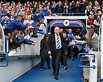 Mark Warburton takes the acclaim of the fans