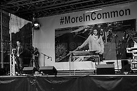 """Brendan Cox (Jo Cox's husband).<br /> <br /> """" #MoreInCommon: London Celebrates Jo Cox"""".<br /> <br /> Memorial for Jo Cox MP in London's Trafalgar Square (Jo Cox was a Labour Member of Parliament who was brutally killed by the far-right extremist Thomas Mair on the 16th of June 2016).<br /> <br /> London, March-July 2016. Reporting the EU Referendum 2016 (Campaign, result and outcomes) observed through the eyes (and the lenses) of an Italian freelance photojournalist (UK and IFJ Press Cards holder) based in the British Capital with no """"press accreditation"""" and no timetable of the main political parties' events in support of the RemaIN Campaign or the Leave the EU Campaign.<br /> On the 23rd of June 2016 the British people voted in the EU Referendum... (Please find the caption on PDF at the beginning of the Reportage).<br /> <br /> For more photos and information about this event please click here: http://lucaneve.photoshelter.com/gallery/22-06-2016-MoreInCommon-London-Celebrates-Jo-Cox/G0000EaldWPY5_Sk/C0000GPpTqAGd2Gg<br /> <br /> For more information about the result please click here: http://www.bbc.co.uk/news/politics/eu_referendum/results"""