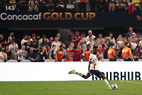 LAS VEGAS, NV - AUGUST 1: Kellyn Acosta #23 of the United States during a game between Mexico and USMNT at Allegiant Stadium on August 1, 2021 in Las Vegas, Nevada.