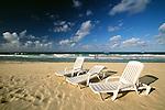 Beach chairs, Cuba