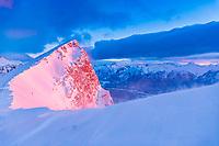 Ha Ling Peak at sunrise, Bow Valley, Alberta, Canada