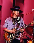 Stevie Ray Vaughan 1973<br /> © Chris Walter