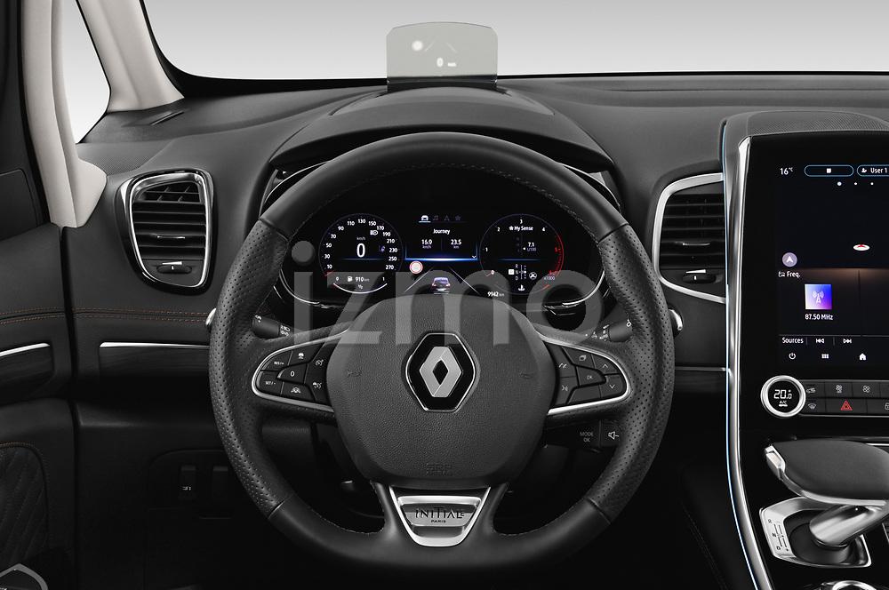 Car pictures of steering wheel view of a 2020 Renault Espace Initiale-Paris 5 Door Mini MPV Steering Wheel