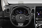 Car pictures of steering wheel view of a 2020 Renault Espace Initiale-Paris 5 Door Mini MPV Steering Wheel
