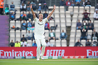 Kyle Jamieson, New Zealand appeals for the wicket of Virat Kohli, India during India vs New Zealand, ICC World Test Championship Final Cricket at The Hampshire Bowl on 20th June 2021