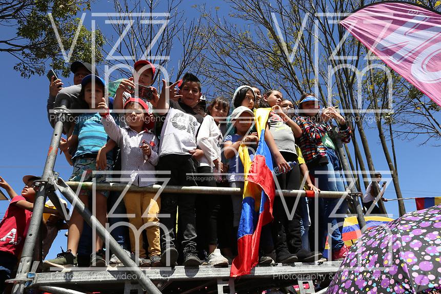 TUNJA - COLOMBIA, 11-02-2020: Seguidores del ciclismo son vistos durante la segunda etapa del Tour Colombia 2.1 2020 con un recorrido de 152,4 km, que se corrió entre Paipa y Duitama, Boyacá. / Followers of cycling are seen during the second stage of 152,4 km as part of Tour Colombia 2.1 2020 that ran between Paipa and Duitama, Boyaca.  Photo: VizzorImage / Darlin Bejarano / Cont