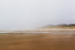 Oregon Coast Beach, U.S. Highway 101, Pacific Coast Scenic Byway, near Newport, Oregon.  Oregon Central Coast, beaches, bays, bars, family fun, winter storms, lighthouses, fishing boats, bluffs, fossils and beach walks.