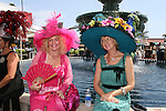 22 July 2009: The annual hat contest on opening day of the 2009 Del Mar Thoroughbred Club racing season at Del Mar Race Track, Del Mar, CA