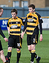 08/05/2010   Copyright  Pic : James Stewart.sct_js014_alloa_v_cowdenbeath  .::  GARY CARROLL AND MARC MCCAFFERTY ARE DISTRAUGHT AFTER BEING PUT OUT OF THE PLAY OFFS ::  .James Stewart Photography 19 Carronlea Drive, Falkirk. FK2 8DN      Vat Reg No. 607 6932 25.Telephone      : +44 (0)1324 570291 .Mobile              : +44 (0)7721 416997.E-mail  :  jim@jspa.co.uk.If you require further information then contact Jim Stewart on any of the numbers above.........