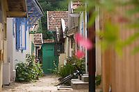 Europe/France/Aquitaine/33/Gironde/Bassin d'Arcachon/L'Herbe; les cabanons du village ostréicole