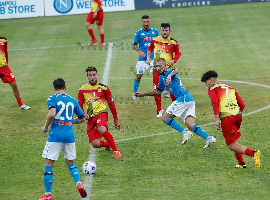 durante il Triangolare precampionato nel ritiro estivo  tra Napoli , L'Aquila e il Castel Di Sangro allo stadio Patini