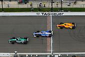 Jay Howard, Schmidt Peterson Motorsports / AFS Racing Honda, Stefan Wilson, Andretti Autosport Honda, Zach Veach, Andretti Autosport Honda