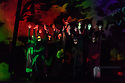 """Buxton, UK. 04.07.2017. Buxton International Festival presents """"Macbeth"""", by Verdi, at Buxton Opera House, Buxton, Derbyshire.  Picture shows: The chorus (witches). Photograph © Jane Hobson"""