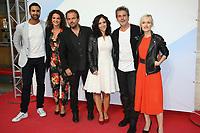 JOAKIM LATZKO, PAULINE BRESSION, STEPHANE HENON, FABIENNE CARAT, AVY MARCIANO, LARA MENINI - 19EME FESTIVAL DE LA FICTION TV DE LA ROCHELLE, FRANCE, LE 15/09/2017.