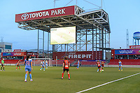 Bridgeview, IL, USA - Saturday, April 23, 2016: The Chicago Red Stars play the Western New York Flash during a regular season National Women's Soccer League match at Toyota Park. Chicago won 1-0.