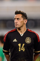 Mexico midfielder Christian Gimenez (14). Mexico defeated the Ivory Coast 4-1 during an international friendly at MetLife Stadium in East Rutherford, NJ, on August 14, 2013.