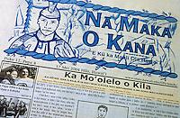 Hawaiian language newspaper Na Maka O Kana