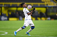 DORTMUND, GERMANY - NOVEMBER 24 : Simon Deli defender of Club Brugge controls the ball during the UEFA Champions League Group stage - group F, 2nd leg match between Borussia Dortmund and Club Brugge at the Signal Iduna Park stadium on November 24, 2020 in Dortmund, Germany, 24/11/2020 ( Photo by Nico Vereecken / Photo News<br /> Borussia Dortmund - Club Brugge <br /> Champions League 2020/2021<br /> Photo Photonews / Panoramic / Insidefoto <br /> Italy Only