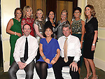 Coleman and Ann O'Flynn and staff from O'Flynn's Pharmacy winners of the 'Friendliest Staff' Award at the Ardee Traders Awards night in the Nuremore hotel Carrickmacross. Photo:Colin Bell/pressphotos.ie