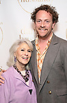 """Jamie deRoy and Drew Droege during the Opening Night Celebration for """"Daniel's Husband"""" at the West Bank on October 28, 2018 in New York City."""