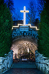 Lourdes-Grotte in Gamprin-Bendern, Liechtenstein.<br /> <br /> Foto: Paul J. Trummer