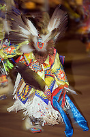 Native american dancers at 13th annual Chumash Pow wow Santa Ynez Valley