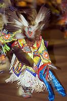 Native american dancers at 13th annual Chumash Pow wow Santa Ynez Valley