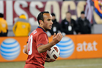Landon Donovan (10) of the United States. The United States (USA) and Argentina (ARG) played to a 1-1 tie during an international friendly at the New Meadowlands Stadium in East Rutherford, NJ, on March 26, 2011.
