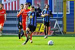 Waldhofs Marco Schuster (Nr.6) beim. Schuss beim Spiel in der 3. Liga, SV Waldhof Mannheim - FSV Zwickau.<br /> <br /> Foto © PIX-Sportfotos *** Foto ist honorarpflichtig! *** Auf Anfrage in hoeherer Qualitaet/Aufloesung. Belegexemplar erbeten. Veroeffentlichung ausschliesslich fuer journalistisch-publizistische Zwecke. For editorial use only. DFL regulations prohibit any use of photographs as image sequences and/or quasi-video.