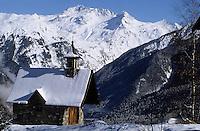 Europe/France/Rhone-Alpes/73/Savoie/Courchevel: La Chapelle du curé d'Ars  Courchevel 1550