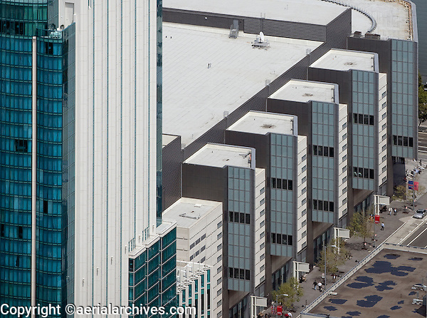 aerial photograph Moscone West San Francisco, California