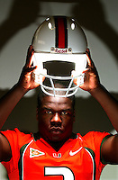 Then University of Miami running back #3 Frank Gore is pictured during media day in Miami, Fl. (Rick Wilson/The Florida Times-Union)