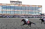September 25, 2021: Hot Rod Charlie #7, ridden by jockey Flavien Prat wins the Grade 1 Pennsylvania Derby at Parx Racing and Casino in Bensalem, Pennsylvania on September 25th, 2021. Scott Serio/Eclipse Sportswire/CSM