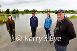 Launching the Webinar for the Birds of the Castlegregory/ Maherees in the Tralee Bay Wetlands on Monday, and the webinar is been held on line on Sunday August 25th. L to r: Breda Moriarty (Community Water Officer for the Local  Authority Water Programme), Alan Balfe (Tralee Bay Wetlands), Martha Farrell (Maherees Conservation Committee) and Ed Carty.
