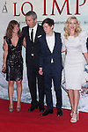 08.10.2012. The film team attends the premiere of Kinepolis Cinema in Madrid of the movie 'The Impossible'. Directed by Juan Antonio Bayona and starring by  Naomi Watts and Tom Holland. In the image Marta Etura, Tom Holland, Naomi Watts and Juan Antonio Bayona   (Alterphotos/Marta Gonzalez)