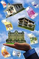 Economia e finanza.Economy and finance.mercato immobiliare.housing market.....