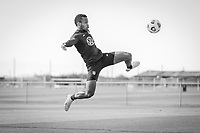 BRADENTON, FL - JANUARY 21: Jeremy Ebobisse shoots the ball during a training session at IMG Academy on January 21, 2021 in Bradenton, Florida.