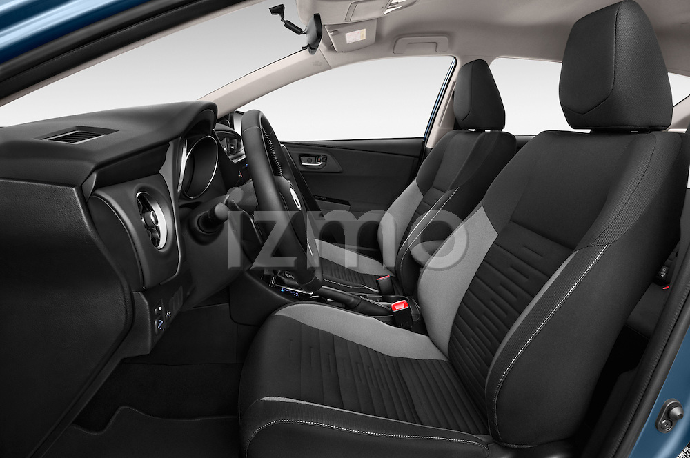Front seat view of a 2015 Toyota Auris Dynamic 5 Door Hatchback Front Seat car photos