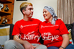 Majella Kearney Clifford from Kilmoyley who has recently been diagnosed with Leukaemia sitting with her son Ricky Clifford who has set up a Go Fund Me page to help with the expense of her travel and accommodation costs to Dublin for a bone marrow transplant