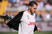 Leonardo Bonucci of Juventus <br /> Lecce 26-10-2019 Stadio Via del Mare <br /> Football Serie A 2019/2020 <br /> US Lecce - Juventus FC <br /> Photo Federico Tardito / Insidefoto