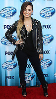 LOS ANGELES, CA, USA - MAY 21: Demi Lovato arrives at FOX's 'American Idol' XIII Finale held at Nokia Theatre L.A. Live on May 21, 2014 in Los Angeles, California, United States. (Photo by Celebrity Monitor)