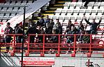 Hamilton Accies v St Johnstone…01.04.17     SPFL    New Douglas Park<br />Saints fans he Perth Ultras<br />Picture by Graeme Hart.<br />Copyright Perthshire Picture Agency<br />Tel: 01738 623350  Mobile: 07990 594431