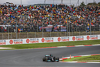 9th October 2021; Formula 1 Turkish Grand Prix 2021 Qualifying sessions at the Istanbul Park Circuit, Istanbul;   44 HAMILTON Lewis gbr, Mercedes AMG F1 GP W12 E Performance