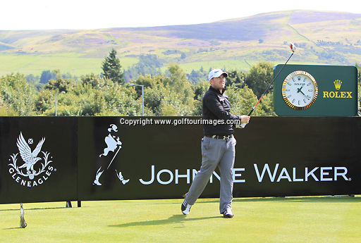 Richie RAMSAY (SCO) during the ProAm ahead of the 2013 Johnnie Walker Championship being played over the PGA Centenary Course, Gleneagles, Perthshire from 22nd to 25th August 2013: Picture Stuart Adams www.golftourimages.com: 21st August 2013