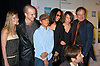 """Robin Williams and family, Zach, Cody and Marcia and ..Zelda and David Duchovny ..at the """"House of D"""" movie screening at the Tribeca Film Festival on May 7, 2004 in New YOrk City. ..Photo by Robin Platzer, Twin Images"""