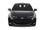 Car photography straight front view of a 2021 Toyota Corolla-Hatchback SE 5 Door Hatchback Front View