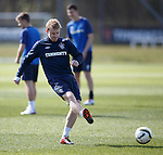 Stevie Smith still training with Rangers